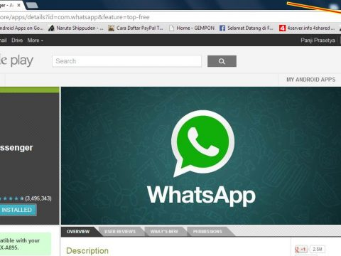 Cara Menginstall Whatsapp Di PC